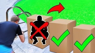 Download Lagu DONT Tackle the Wrong Mystery Box into the Pool of SLIME!! Gratis STAFABAND