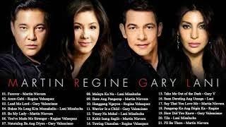 Martin Nievera ,Regine Velasquez ,Gary V & Lani Misalucha OPM Tagalog Love Songs Playlist