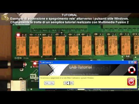 LABDOMOTIC interfaccia usb 24 relè 40 input domotica e plc