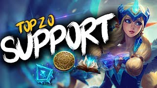 Top 20 SUPPORT Plays #17 | League of Legends