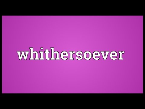Header of whithersoever