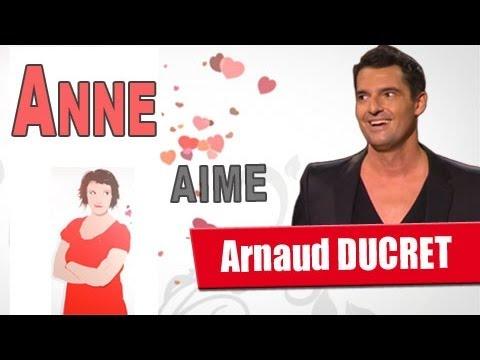 Anne Roumanoff aime Arnaud DUCRET