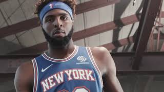 Introducing the Knicks 2019-20 Statement Edition Uniform
