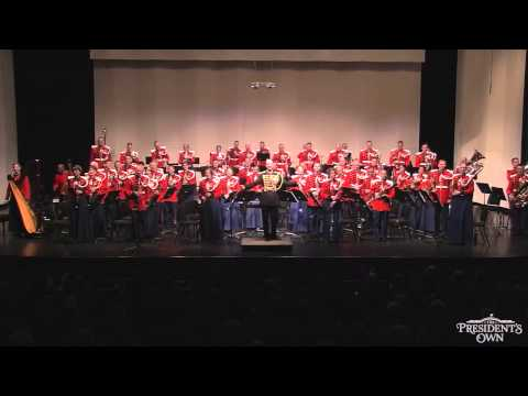 """SOUSA The Stars and Stripes Forever - """"The President's Own"""" U.S. Marine Band"""
