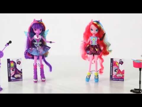 Hasbro: My Little Pony : Equestria Girls - Dolls Rainbow Rock's