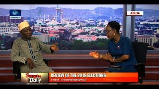 Pres'l Election: Galadima Slams Militarisation Of Process, Insists PDP Was Robbed Pt.2