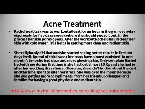 Acne Treatment(My Friend's Success Story)