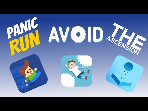 Avoid. Panic Run & The Ascension Review   Simple High Score Arcade Games   iOS Gameplay