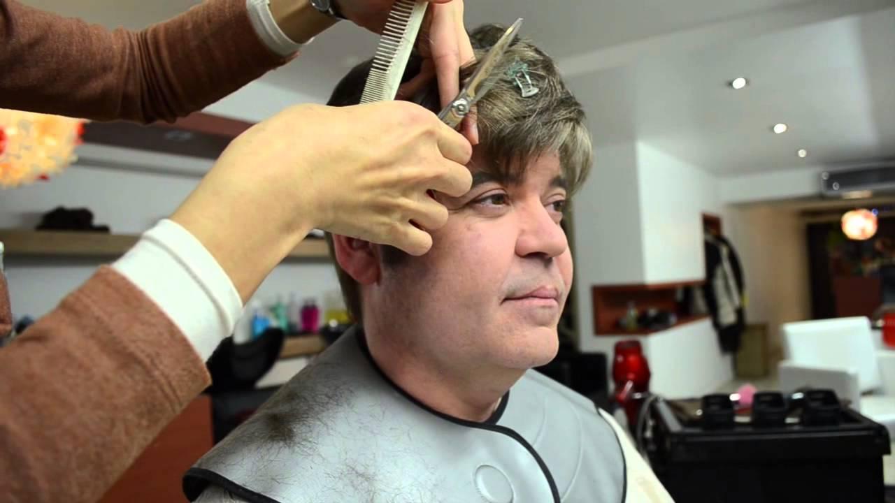 Mens Color And Cut At Tomoko Shima Hair Salon NYC YouTube