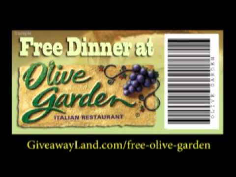 Olive Garden Coupon Youtube