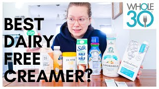 Which Whole 30 & Vegan Coffee Creamer is the Best? [taste test with non-dairy creamers 2020]