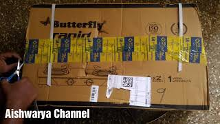 Just Rs.1799   Glass Top Gas Stove   Flipkart Republic Day Sale  Unboxing Butterfly Rapid  Offer