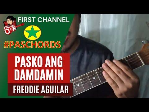 Pasko Ang Damdamin - Freddie Aguilar - #PasChords series
