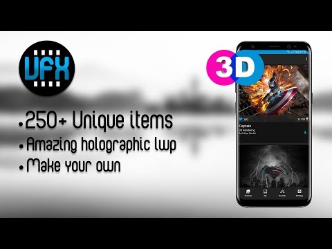 VFX 3D Live Wallpapers 2018 APK Cover
