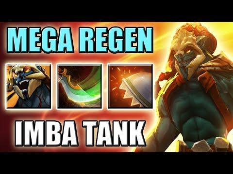 NEW Imba Regen Tank | Timber Passive [0 Mana Build] Dota 2 Ability Draft 7.07