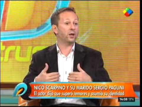 Nicolás Scarpino venció sus miedos para contar su sexualidad