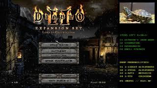 Diablo 2 - The Stone of Jordan Drop - Holy Grail (Single Player / Plugy)