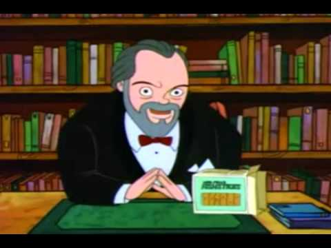 Orson Welles in The Critic