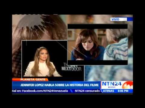 NTN24 habló con Jennifer López, protagonista de la nueva película 'The Boy Next Door'