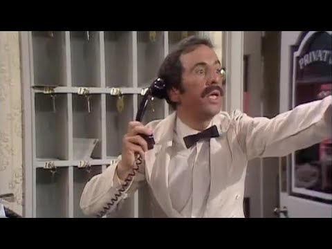 Manuel Mans The Phones Fawlty Towers Bbc Youtube