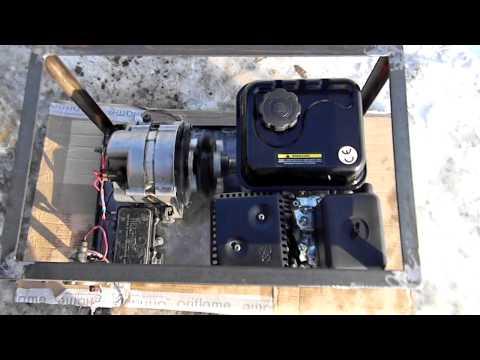 Как сделать самодельный генератор на 220 в 135