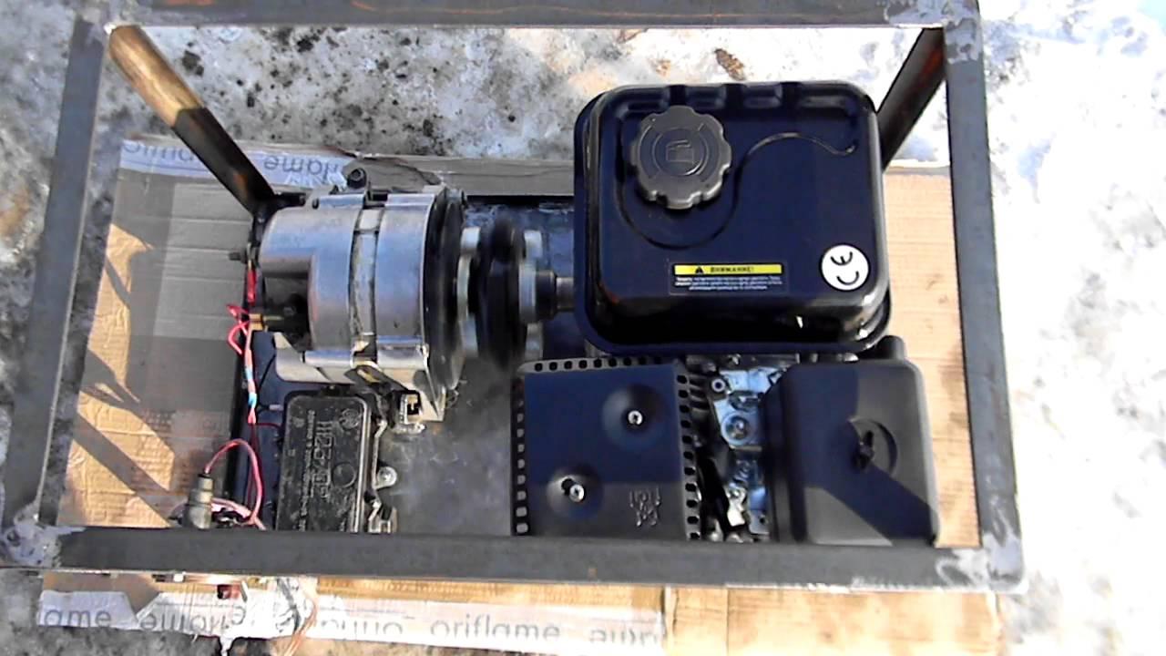 Самодельный генератор для бензогенератора