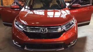 2017 Honda CR-V reveal