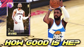 How GOOD Is Galaxy Opal Kyrie Irving ACTUALLY?? | 99 Overall Worth It In NBA 2K19 MyTEAM?
