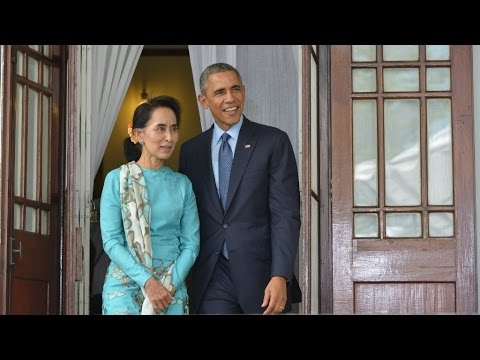 Obama meets Suu Kyi, calls for greater reforms in Burma - EAST ASIA SUMMIT