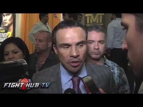 Juan Manuel Marquez on if Mayweather really wants Pacquiao fight Mayweather Maidana 2