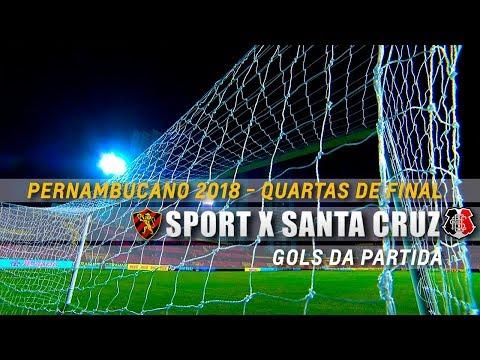 HD⁶⁰ | Gols: Sport 3 X 0 Santa Cruz - Pernambucano 2018 - Quartas De Final