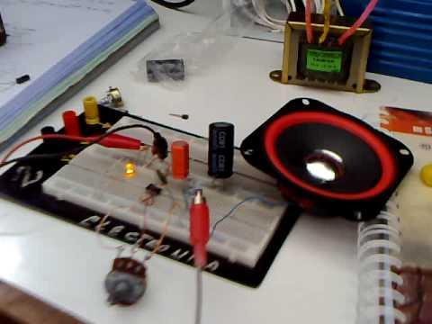 Taller de Electrónica Básica - Amplificador de Audio