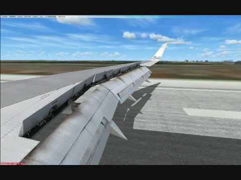 York Dress Company on Fsx American Airlines Tulsa To Dallas Ft  Worth Ifr Landing 35r  Wing