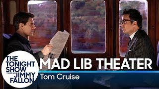 Mad Lib Theater with Tom Cruise (Mission: Impossible Edition)