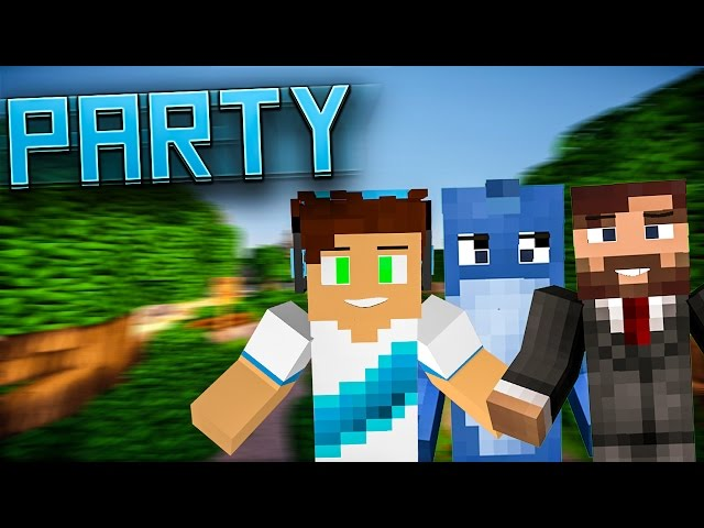 MINECRAFT PARTY! #90 - Marcin Dubiel wbił na odcinek?! | Vertez, Kiślu, Purpose