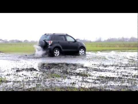 Daihatsu Terios SX 1.5 A/T, бездорожье