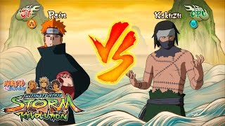 Naruto Shippuden Ultimate Ninja Storm Revolution - Pain VS Kakuzu