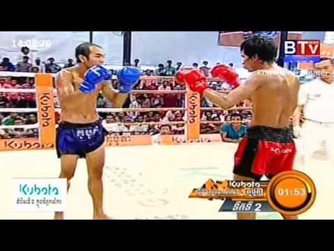 Khmer Boxing, So Pir Vs Chan Raksa , BTV Boxing, 20 September 2015