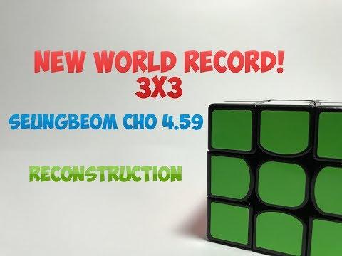 Реконструкция нового мирового рекорда 4.59 - SeungBeom Cho