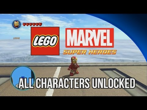 ALL Characters Unlocked - LEGO Marvel Super Heroes