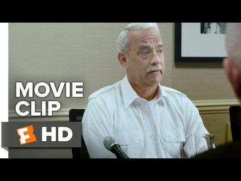 Sully Movie CLIP - I Eyeballed It (2016) - Tom Hanks Movie