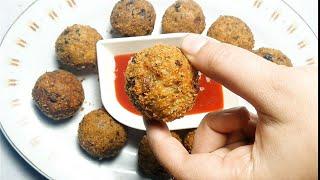 Rice balls with leftover rice recipe in Urdu/Hindi 2019