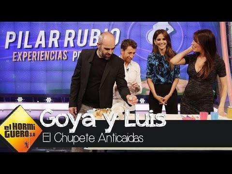 Pilar Rubio nos presenta 'el chupete anticaídas' en el Hormiguero 3.0