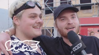 Stuntkabouter met Donnie vs. Leipe Dennis | De Grote VICE Festival Quiz
