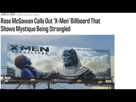 Rose McGowan: Billboard Police