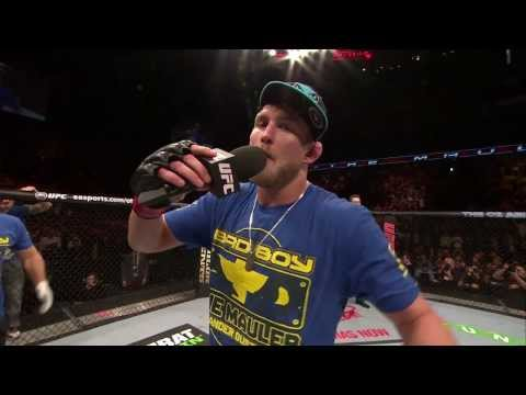 Fight Night London Alexander Gustafsson Octagon Interview