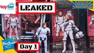 STAR WARS LEAKED TOY IMAGES OF TOY FAIR NEW YORK 2019 DAY 1 LUKE SKYWALKER DEATH STAR ESCAPE