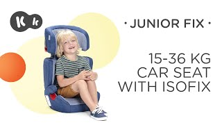 Baby Car Seat 15-36 kg ISOFIX Kinderkraft JUNIOR FIX