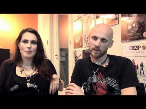 Interview Within Temptation - Sharon den Adel en Robert Westerholt (deel 1)