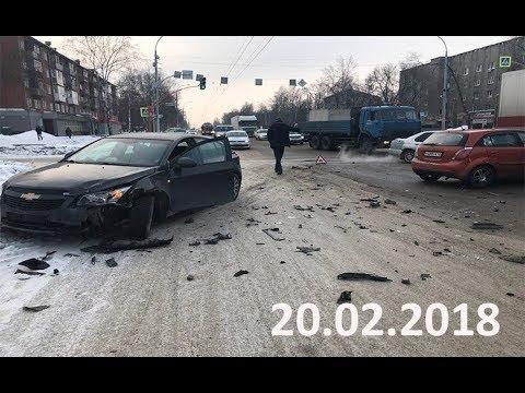 Подборка аварий и дорожных происшествий за 20.02.2018 (ДТП, Аварии, ЧП)